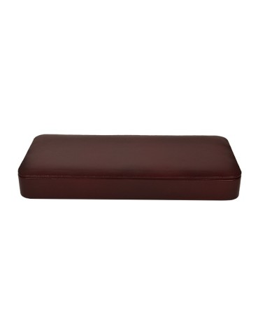 ZINT Men Pure Leather Brown Large Size Valet Tray / Office Organiser